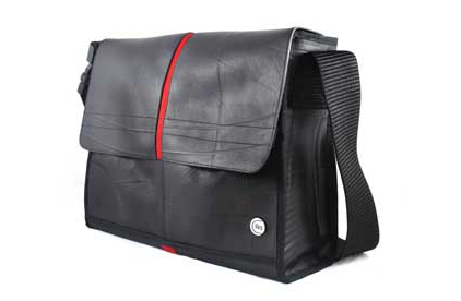 ReStyle Recylced Tire Tube Messenger Bag