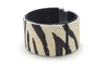 Eco Leather Wide Bracelet